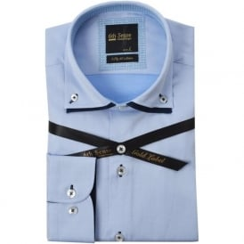 Chicago Luxury Cotton Double Collar Mens Shirt