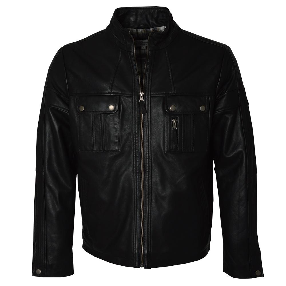 ashwood mens leather biker jackets the shirt store. Black Bedroom Furniture Sets. Home Design Ideas