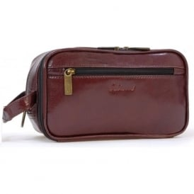 2080 Leather Washbag