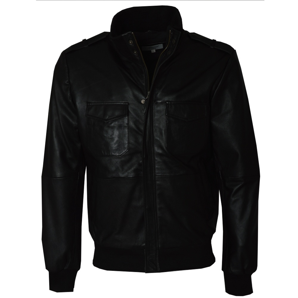 Mens Leather Bomber Jacket By Ashwood Leather The Shirt