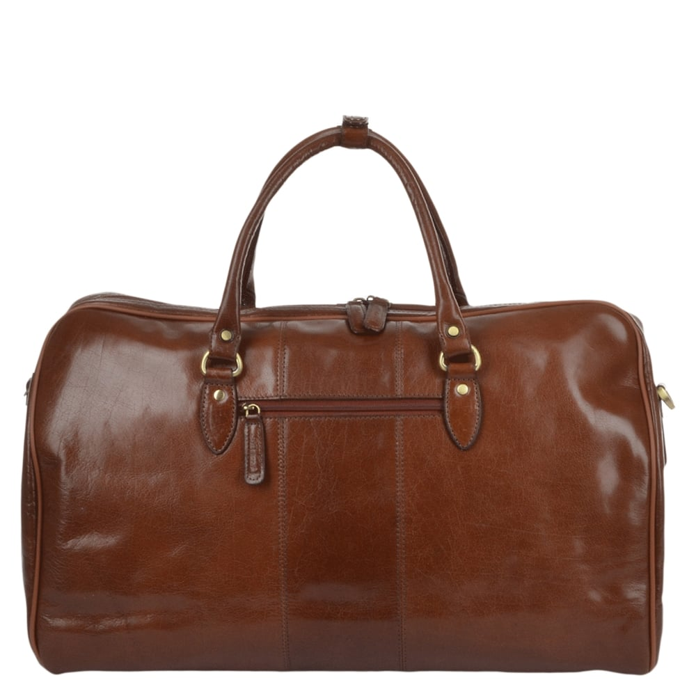 Ashwood Leather Charles Weekend Bag | The Shirt Store