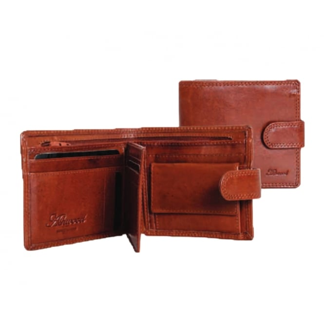 Ashwood Chelsea Coin Leather Mens Wallet
