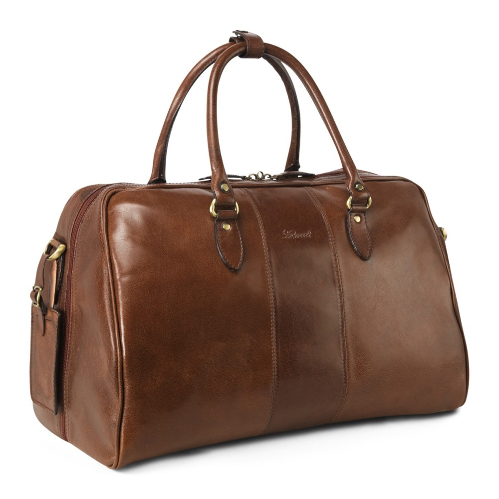 Ashwood Harry Leather weekend Holdall| The Shirt Store