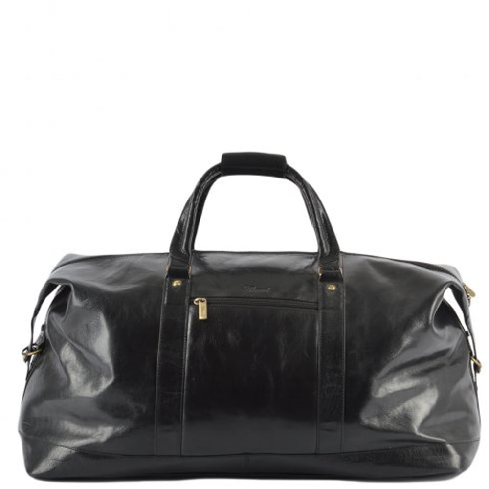 Ashwood Chelsea Large Leather Weekend Bag | The Shirt Store