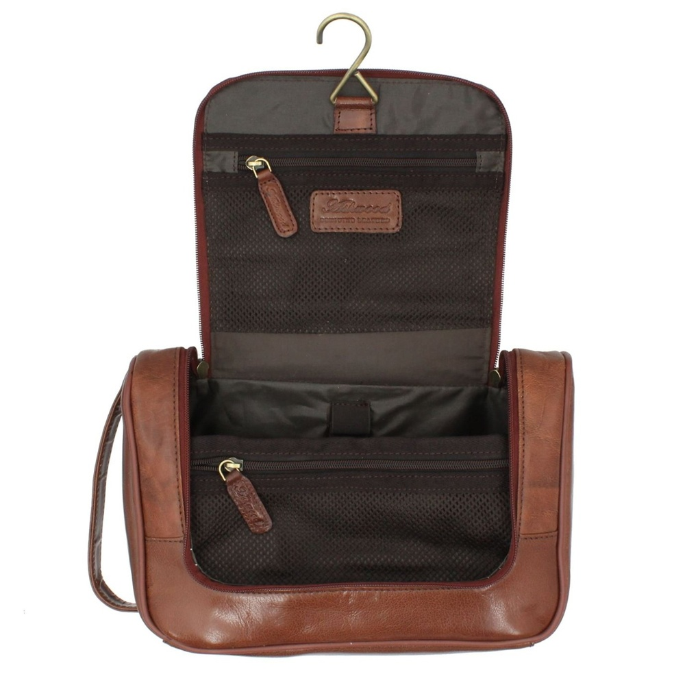 5017aaf802 Ashwood Leather Hanging Washbag