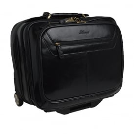 Knightsbridge-Leather Trolley Case