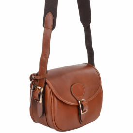 Ashwood Madox Leather Cartridge Bag