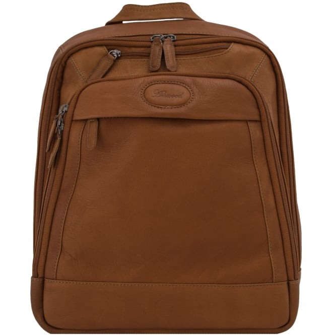 Ashwood Mayfair Laptop Business Rucksack in Colombian Leather