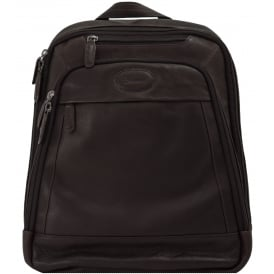 Mayfair Laptop Business Rucksack in Colombian Leather