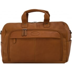 Mayfair Weekend Holdall in Colombian Leather
