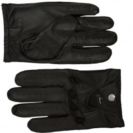 Ashwood Mens Leather Driving Gloves