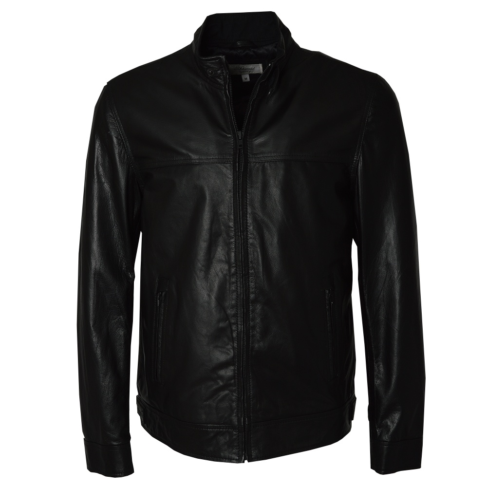mens leather biker jackets by ashwood the shirt store. Black Bedroom Furniture Sets. Home Design Ideas