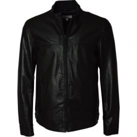 MS Biker Mens Leather Jacket