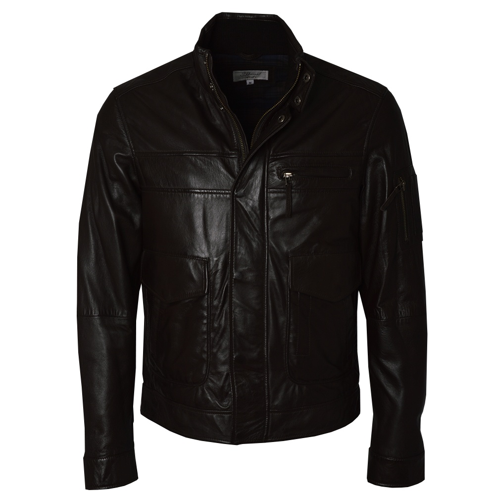 mens brown leather jackets by ashwood the shirt store. Black Bedroom Furniture Sets. Home Design Ideas