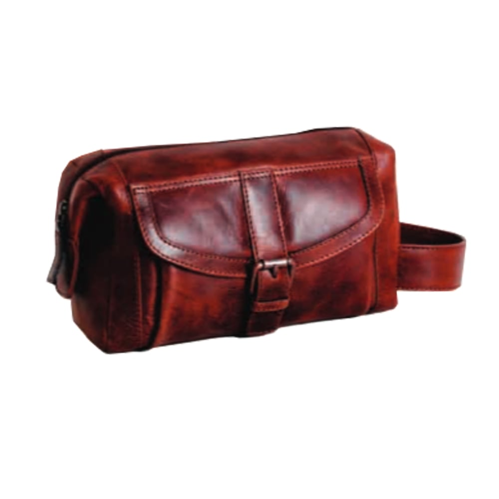 0dc48b5735 Paddington Leo Mens Leather Wash Bag