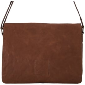 Pedro Five Pocket Carry All Leather Messenger Bag