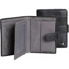 Richmond Leather Mens Wallet with Coin Pouch
