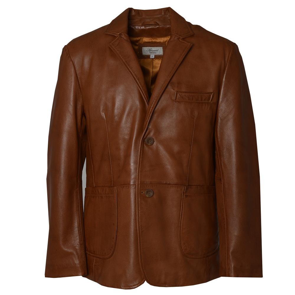 mens brown leather jacket by ashwood the shirt store. Black Bedroom Furniture Sets. Home Design Ideas