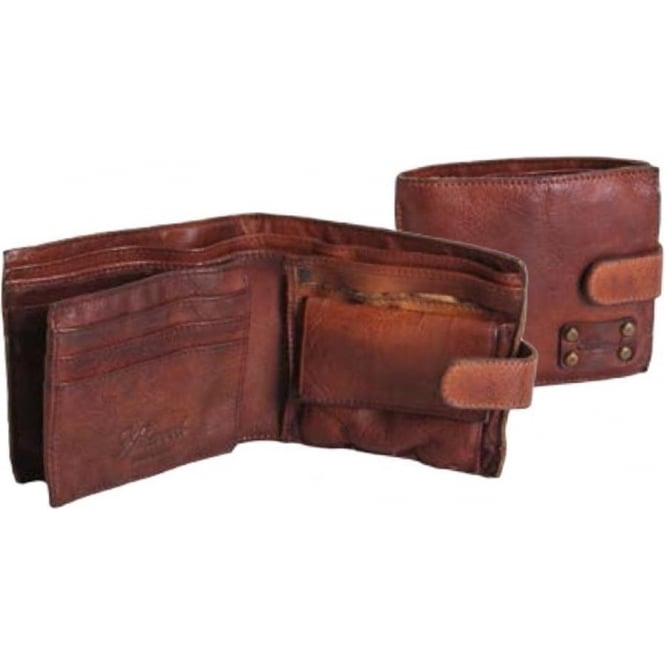 Ashwood Shoreditch Mens Leather Bill Fold Wallet