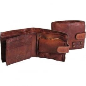 Shoreditch Mens Leather Bill Fold Wallet