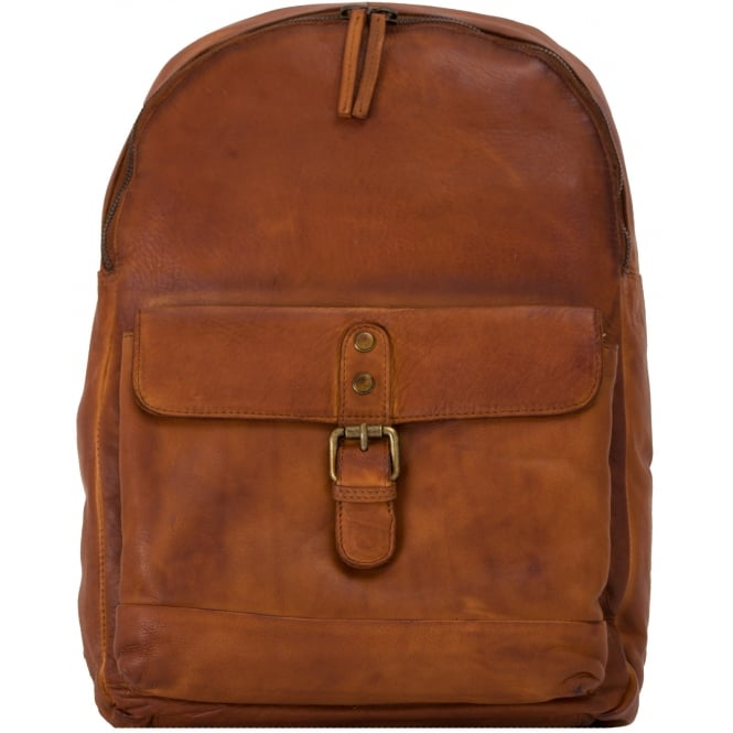 Ashwood Spitalfields Unisex Vintage Wash Backpack