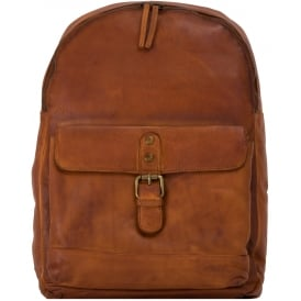 Spitalfields Unisex Vintage Wash Backpack