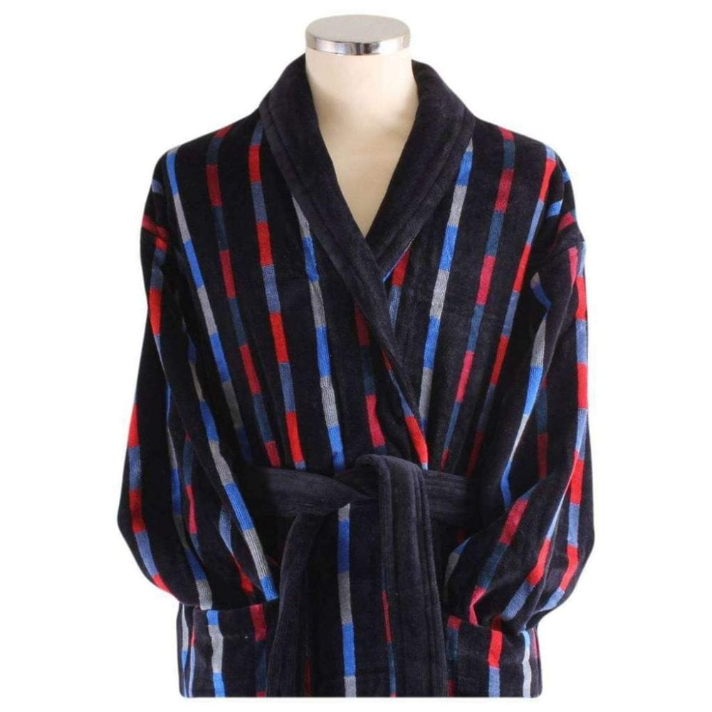 731fd232e04 Bridgend Mens Luxury Egyptian cotton Velour Dressing Gown