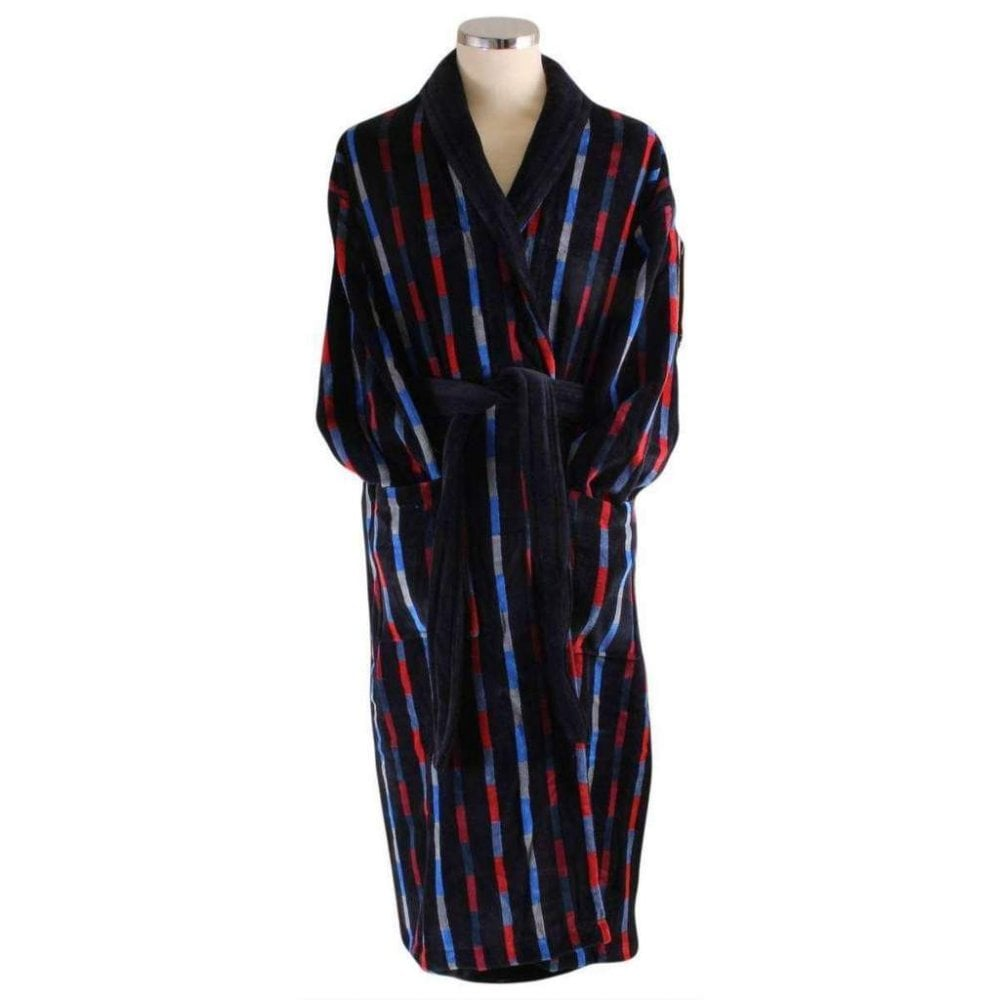 Bown Of London Bridgend Mens Velour Dressing Gown The Shirt Store