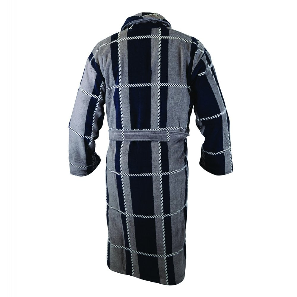 Bown of London Colorado Mens Velour Dressing Gown | The Shirt Store