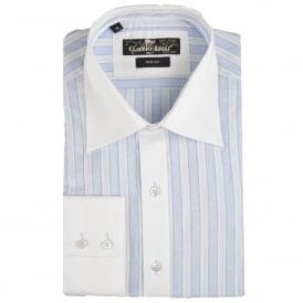 Bold Striped Mens Shirt