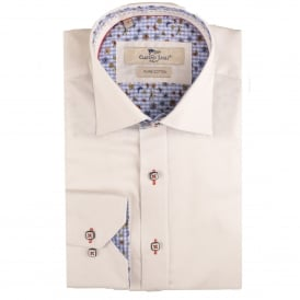 Butterfly Trim Mens Shirt