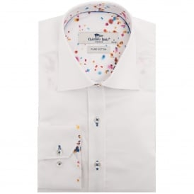 Confetti Trim Print Mens Shirt