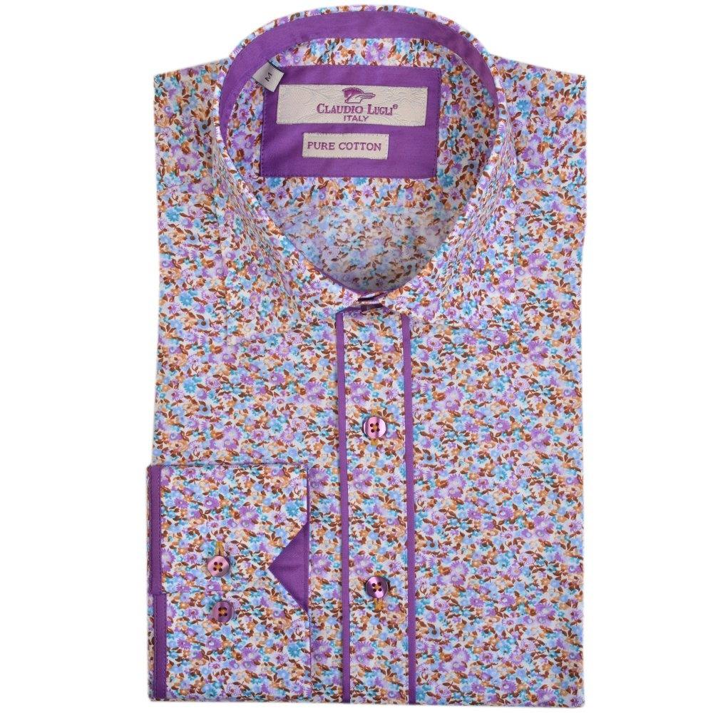 Buy Claudio Lugli Shirts The Shirt Store Floral Shirts