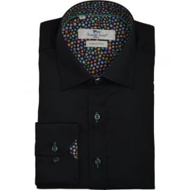 Luxurious Black Mens Shirt