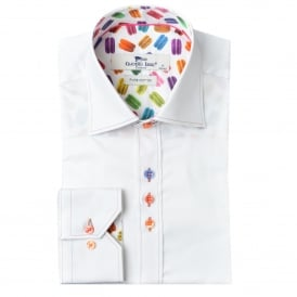 Macaroon Trim Mens Shirt