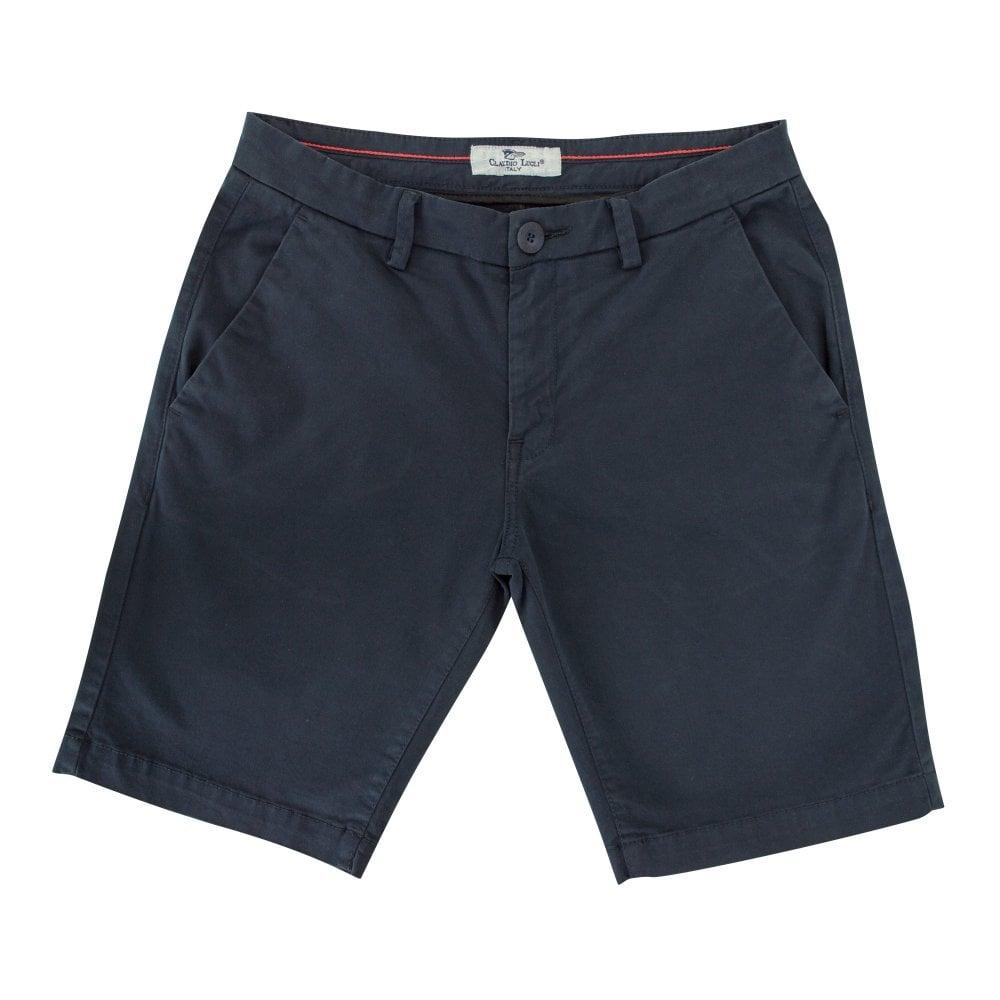 Claudio Lugli Mens Tailored Chino Shorts Cl512 The Shirt Store