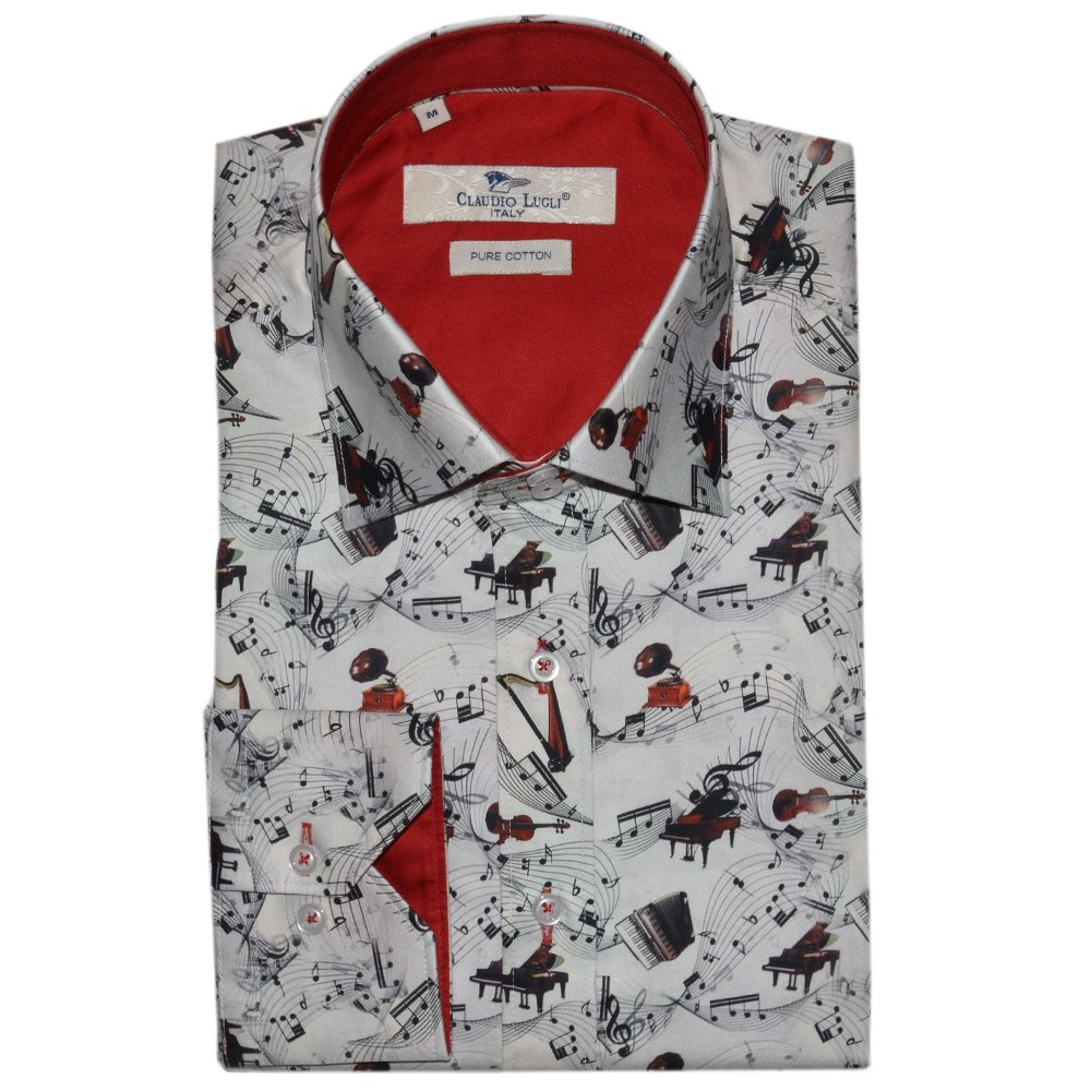 Buy claudio lugli designer shirts the shirt store online for Mens dress shirts uk