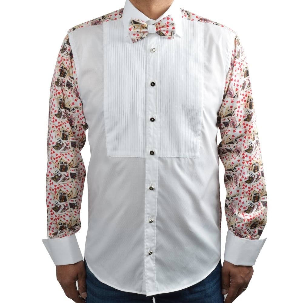 Evening Dress Shirts for Men | Claudio Lugli Bow Tie Shirt