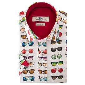 Sunglasses Print Men's Shirt