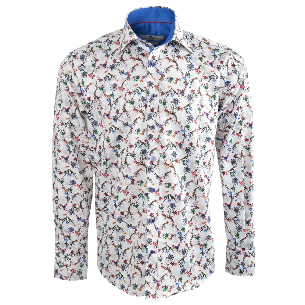 Claudio Lugli Mens Shirts |White Claudio Shirts|CP6186|The Shirt Store