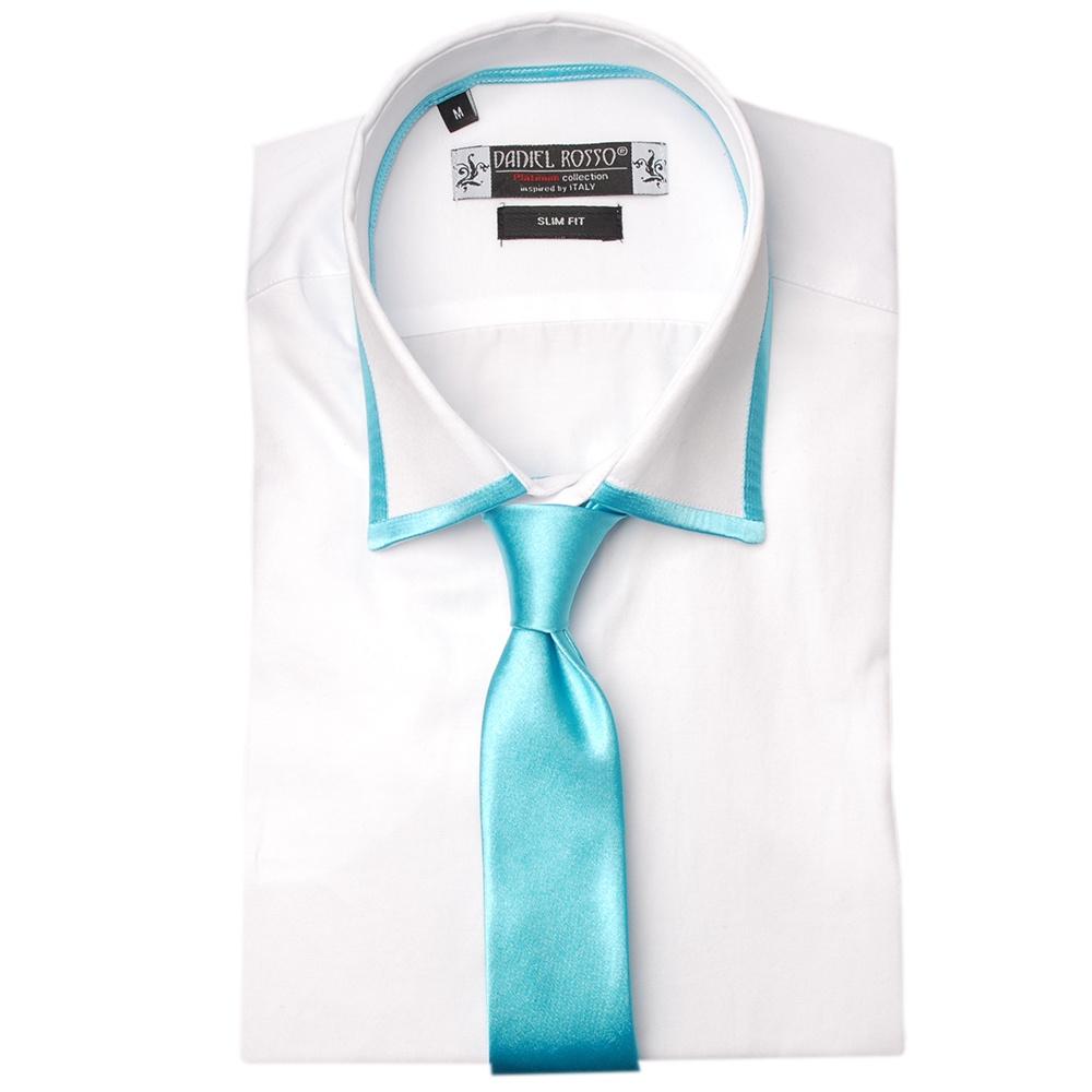 Buy Mens Trim Collar Shirt and Tie Set Online| Wedding Shirts | The ...