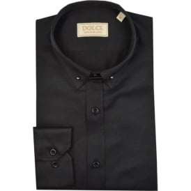 Pin Collar Mens Shirt