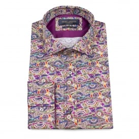 Ferris Wheel Print Mens Shirt
