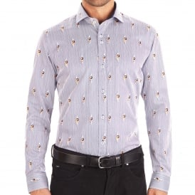 Pin-Up Ladies Peekaboo Mens Shirt