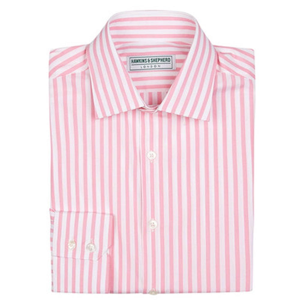 pink and white striped shirt mens artee shirt