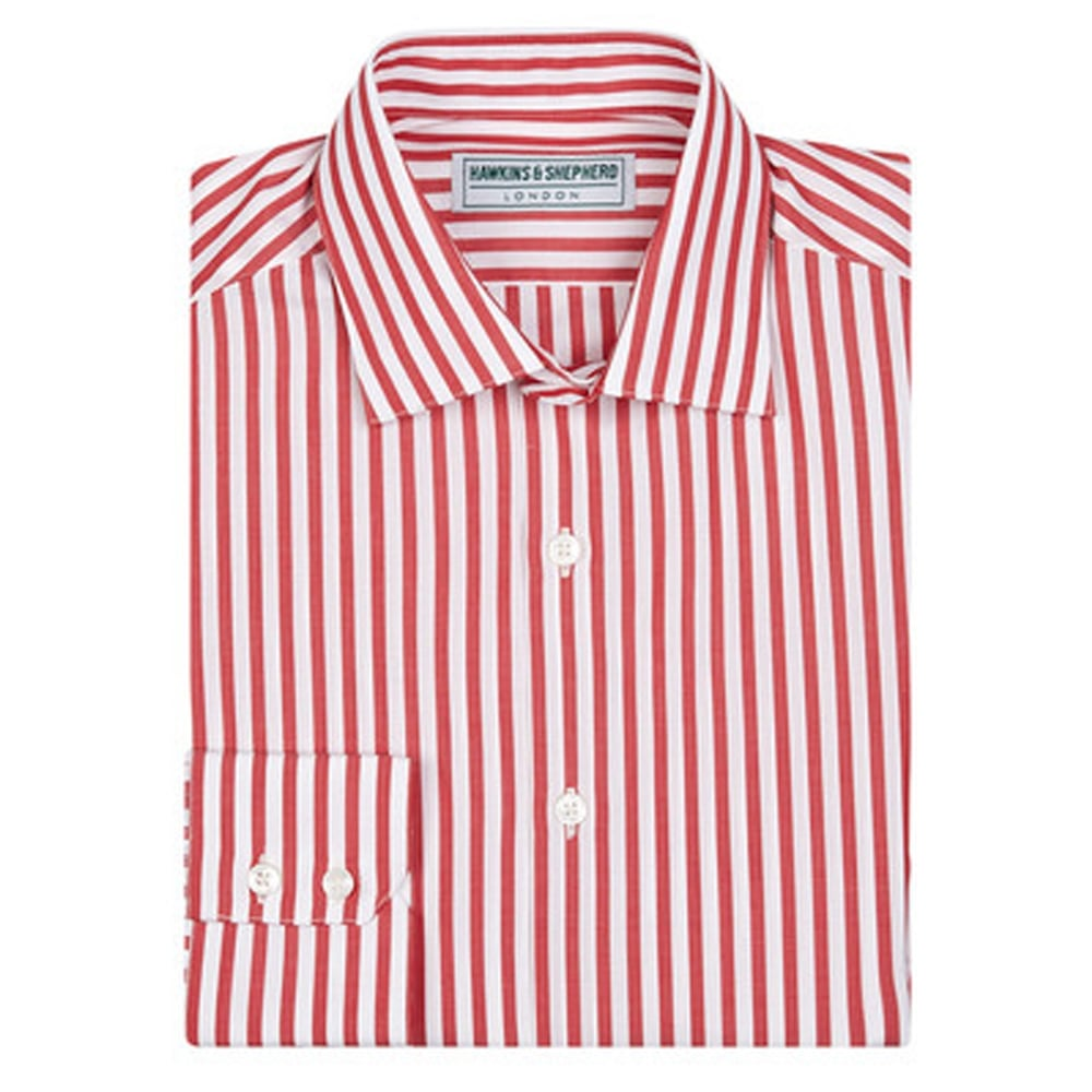 Mens Pink Striped Shirt Custom Shirt