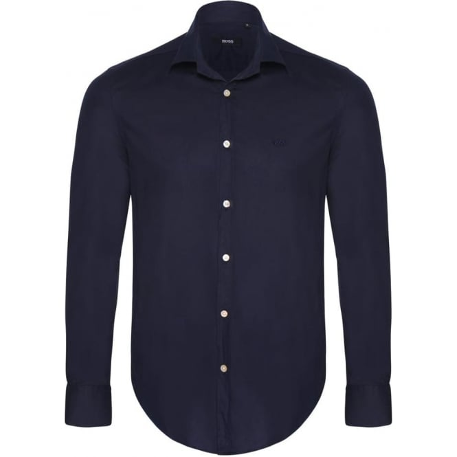 Hugo Boss Navy Mens Shirt