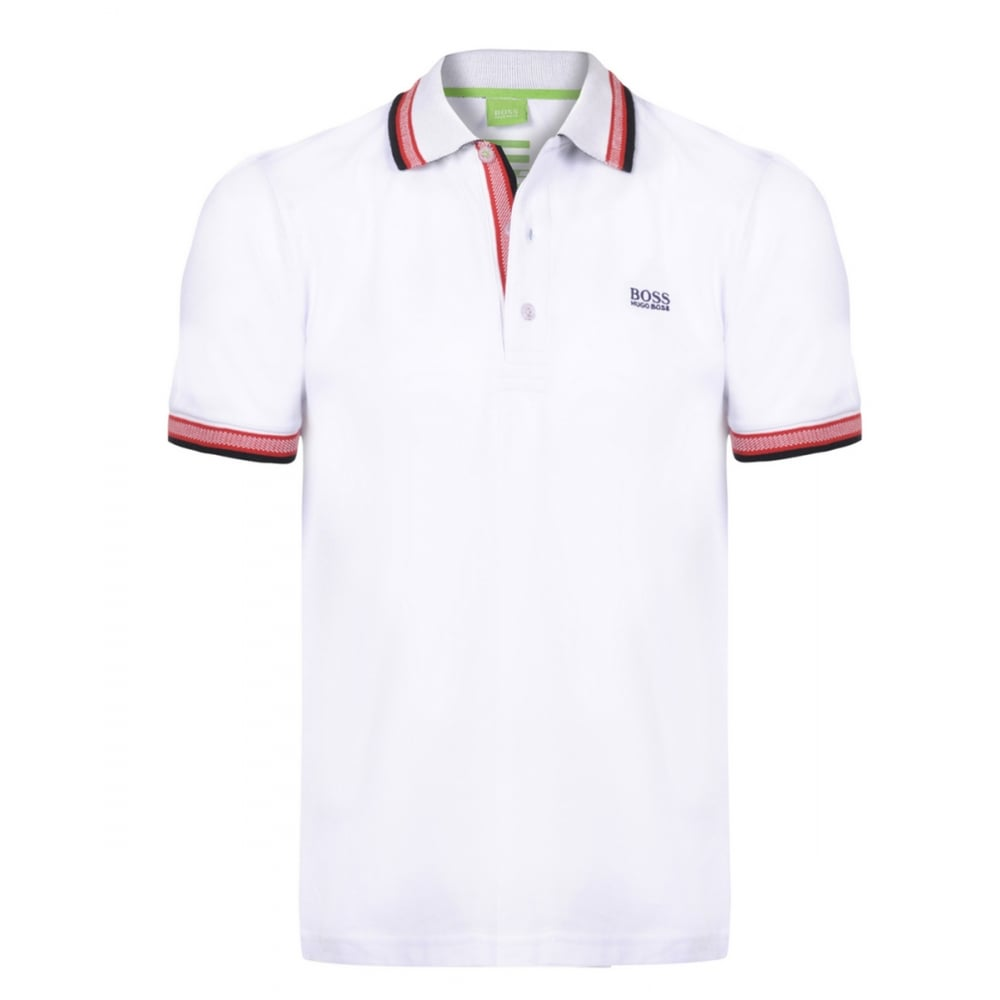 Hugo boss mens polo t shirts the shirt store for Hugo boss green polo shirt sale