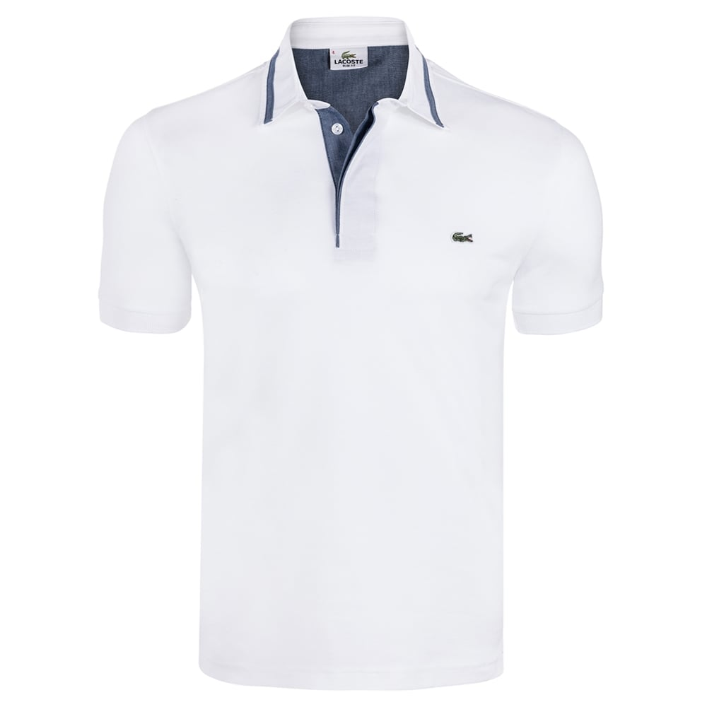 black lacoste polo sale
