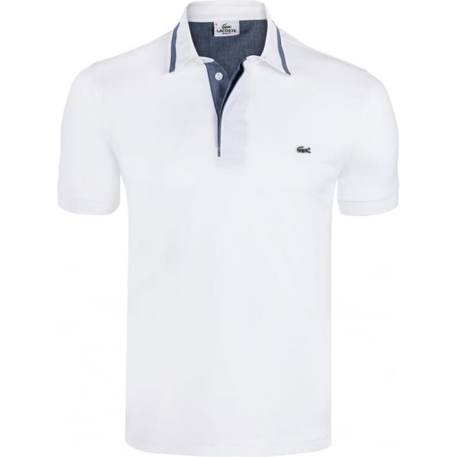 Lacoste mens polo t shirts the shirt store for Lacoste poloshirt weiay